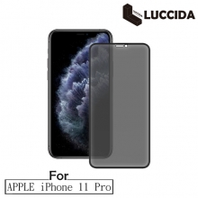 LUCCIDA Apple iPhone 11 Pro 3D冷雕防窺片【滿版】
